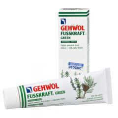 Gehwol Fusskraft: Grønn - Mot svettende føtter / naturfrisk