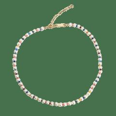 Emilia Pastel Pearl Necklace 40-45 cm