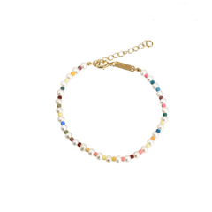 Emilia Pastel Pearl Anklet 22-26 cm