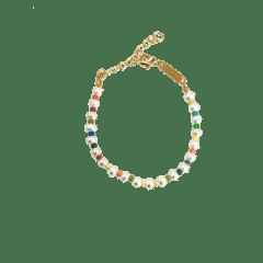 Emilia Pastel Pearl Bracelet 16-20 cm