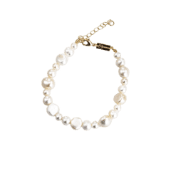Emilia Freshwater Pearl Anklet 22-26 cm