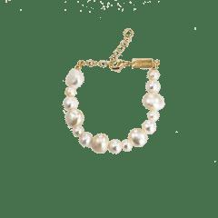 Emilia Freshwater Pearl Bracelet 16-20 cm