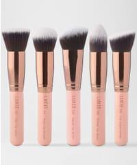 Luxie - Rose Gold Kabuki Brush Set