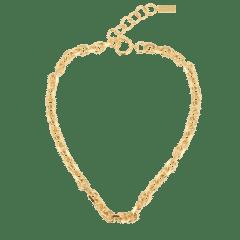 Emilia Angeled Chain Necklace 40 cm