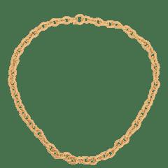 Emilia Matte Chain Necklace Luxe 60 cm