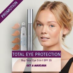 Colorescience Total Eye SPF 35-Få med CS Mineral Mascara